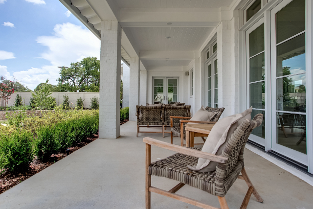 A true front porch is deep enough to sit and move about