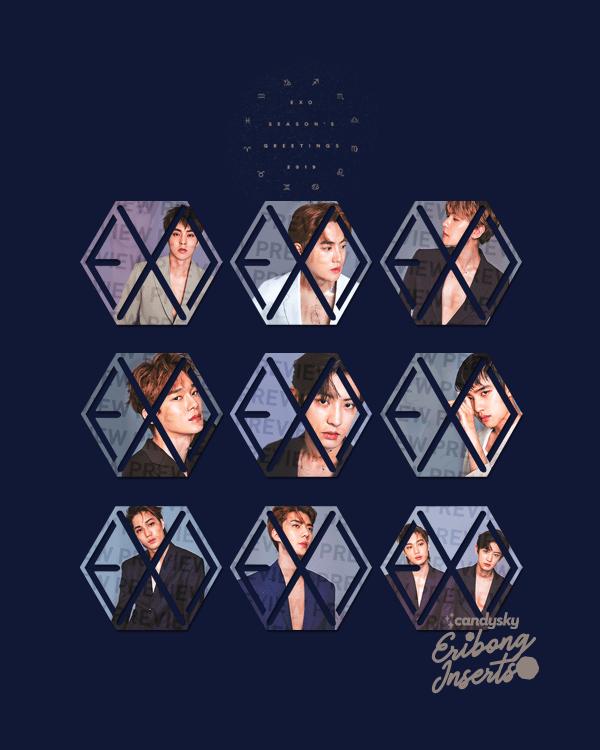 EXO Eribong Inserts: Seasons Greetings 2019