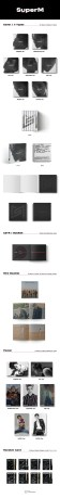 Super M 1st Mini Album (Korean Edition) Album Details
