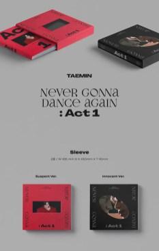 TAEMIN Never Gonna Dance Again Act. 1