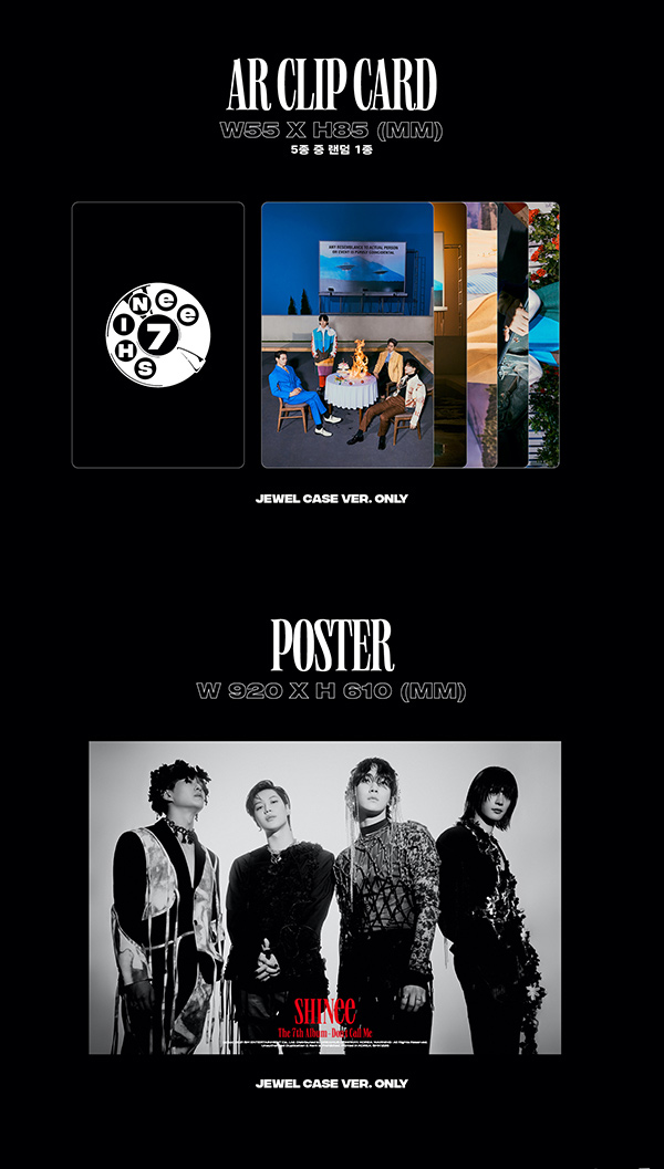 "SHINee 7th Album ""Don't Call Me"" Jewel Case Ver. DETAILS#4"