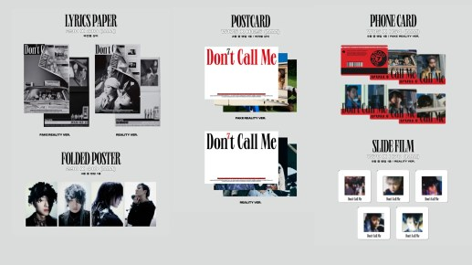 "SHINee 7th Album ""Don't Call Me"" Photobook Ver. – Details #3"