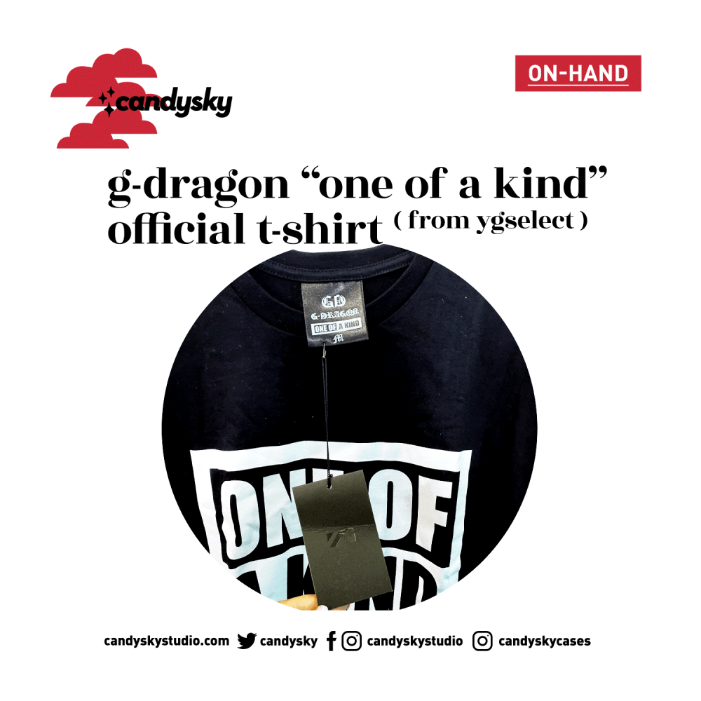 G-DRAGON ONE OF A KIND OFFICIAL SHIRT