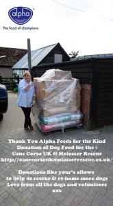 Alpha Feeds Donation