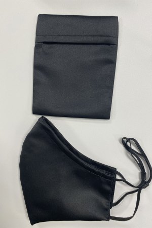 black_satin_set