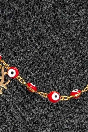 Chain Holder Red and Tree 1
