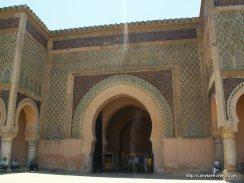 Outra entrada numa das três muralhas de Bab Mansour