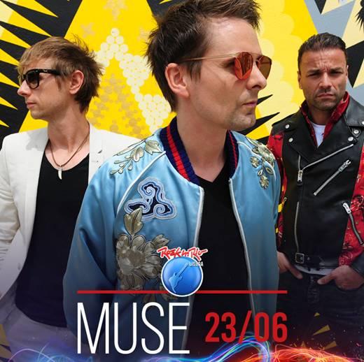 Muse confirmados no Rock in Rio-Lisboa