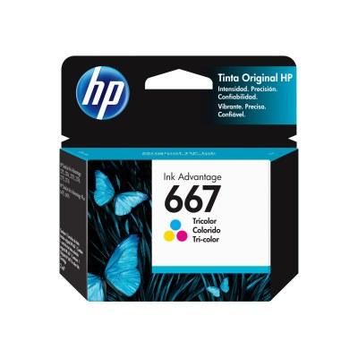 HP Ink Advantage 667 tricolor