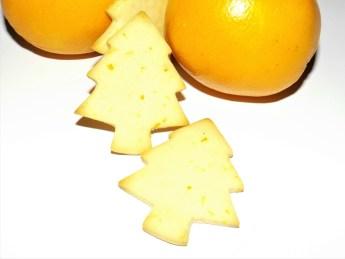 Biscuits au lait concenté sucré et à l'orange ( Bredele )