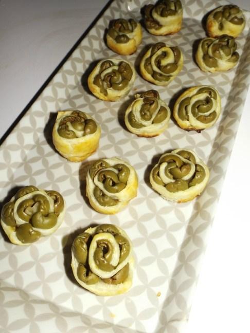Bouquet d'olives feuilleté2