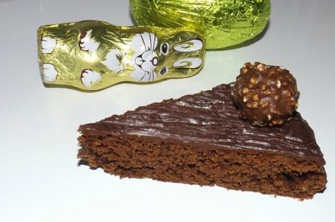 Gâteau de Pâques au chocolat ( sans oeuf )