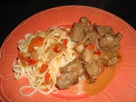 Boeuf sauté aux tomates et au poivre de sichuan2
