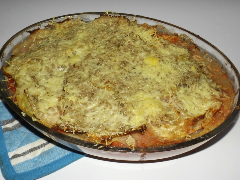 Chou vert en lasagnes de Sophie Dudemaine