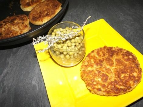 Croquettes de purée aux fromages