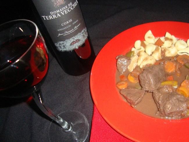 ragoût à la viande de boeuf aux poivrons et paprika