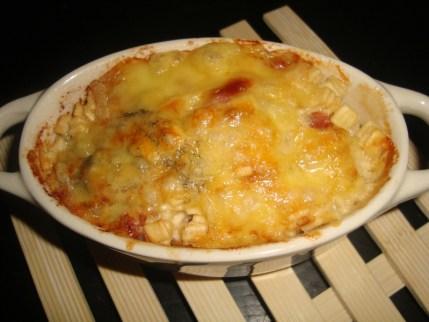 Crozets carbonara gratinés au jambon cru et au beaufort2