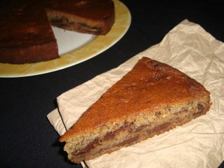 Gâteau chocolat-banane