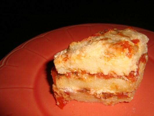 Gratin de polenta à la tomate et à la ricotta2