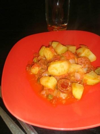 Mijoté de légumes au chorizo