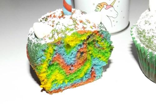 Muffins Rainbow Licorne2