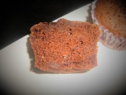 Muffins au chocolat et aux pépites de chocolat2