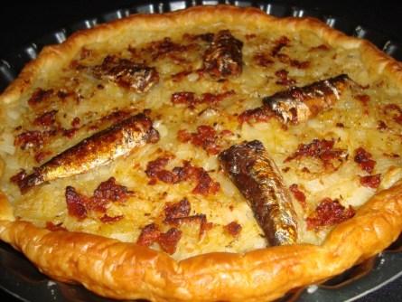 Pissaladière aux sardines et aux tomates séchées2