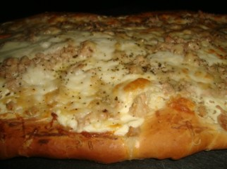 Pizza blanche au thon3