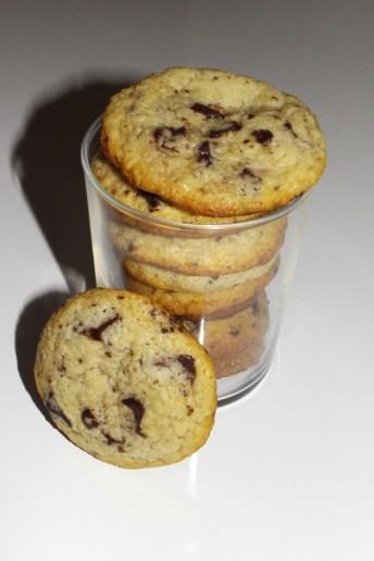 Cookies au lait concentré sucré et aux pépites de chocolat (14 09 2020)