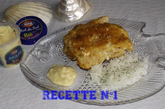 Recette 1 -- Cordon bleu de julienne au saumon fumé