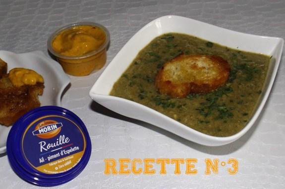 Recette 3 -- Soupe de poisson et de moules