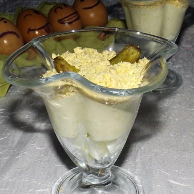 Verrines aux asperges et roquefort mimosa3