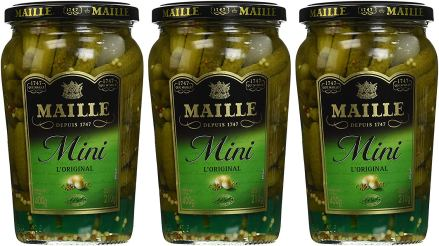 1- Maille Cornichons (210g) -- Lot de 3 -- Mini L'Original