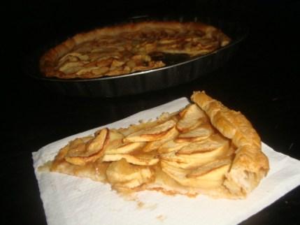 Tarte aux pommes et au caramel au beurre salé2
