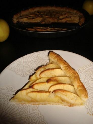 Tarte aux pommes rapide et facile2