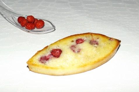 Barquette financière aux fraises des bois et au chocolat blanc2