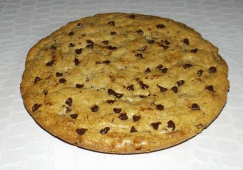 Cookies géant aux pépites de 3 chocolats