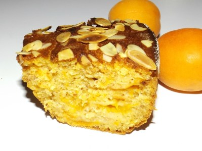 Gâteau aux abricots, aux amandes et à la vanille2