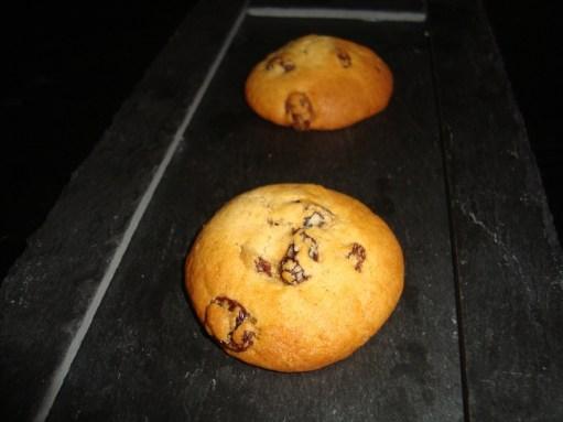 Cookies rhum-raisin
