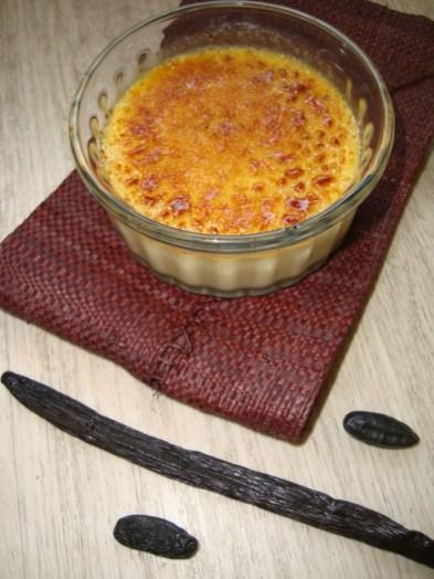 Crème brûlée à la vanille bourbon et à la fève tonka2
