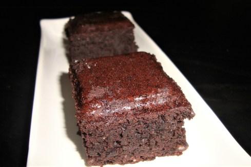 Le brownie incroyable aux haricots rouges ( sans gluten )