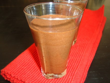 Mousse au chocolat Milka
