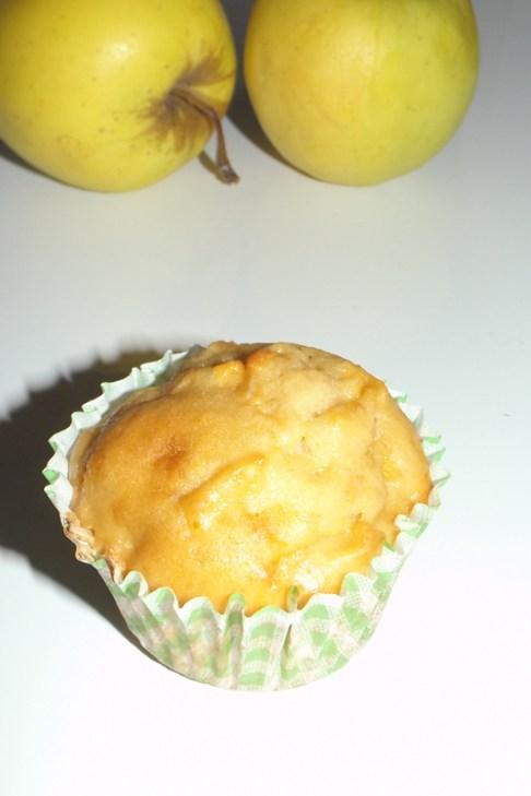 Muffins moelleux aux pommes et au vinaigre de cidre2