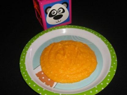 Purée de riz et de carotte DES 6 MOIS