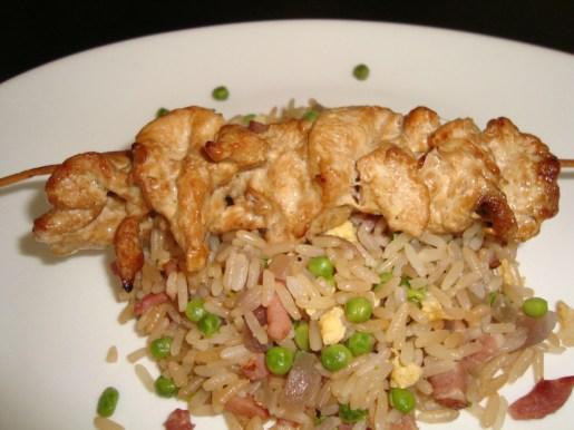 Brochettes de poulet esprit asiatique2