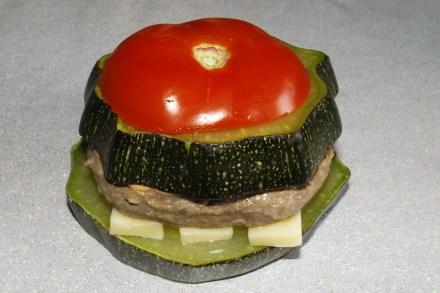 Hamburger de courgette