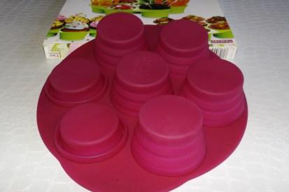 Moule muffins silicon Yoko Design2