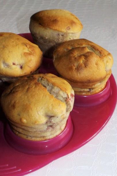 Muffins aux framboises et à la mascarpone2