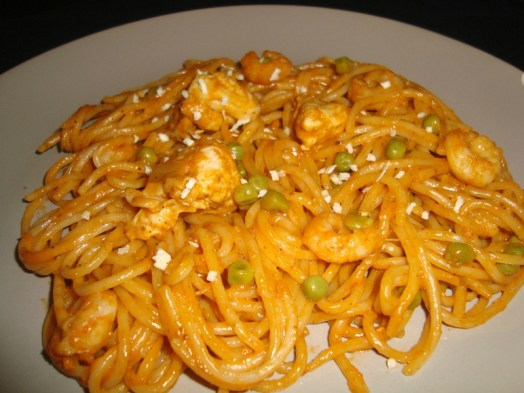 One pot Tandoori pasta3