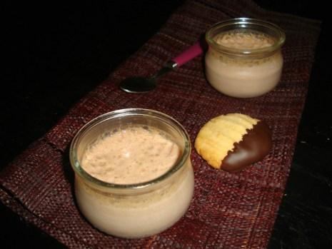Petits pots de crème au Carré Frais® et Banania®